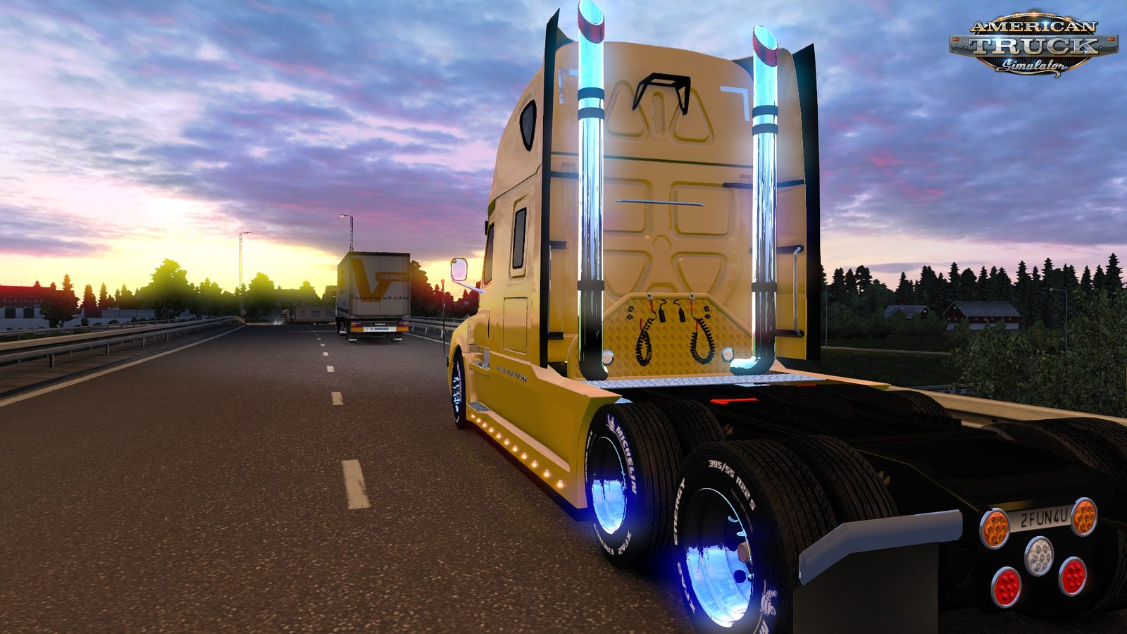 Tuning Accesories for Volvo VNL 2018 v2.0 by TomDooley (1.33.x)