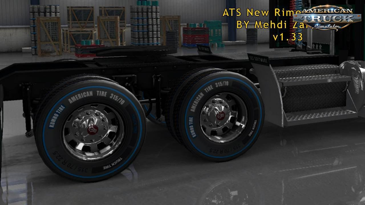 New Rim & Tire v1.0.2 by Mehdi Zarnevis (1.33.x)
