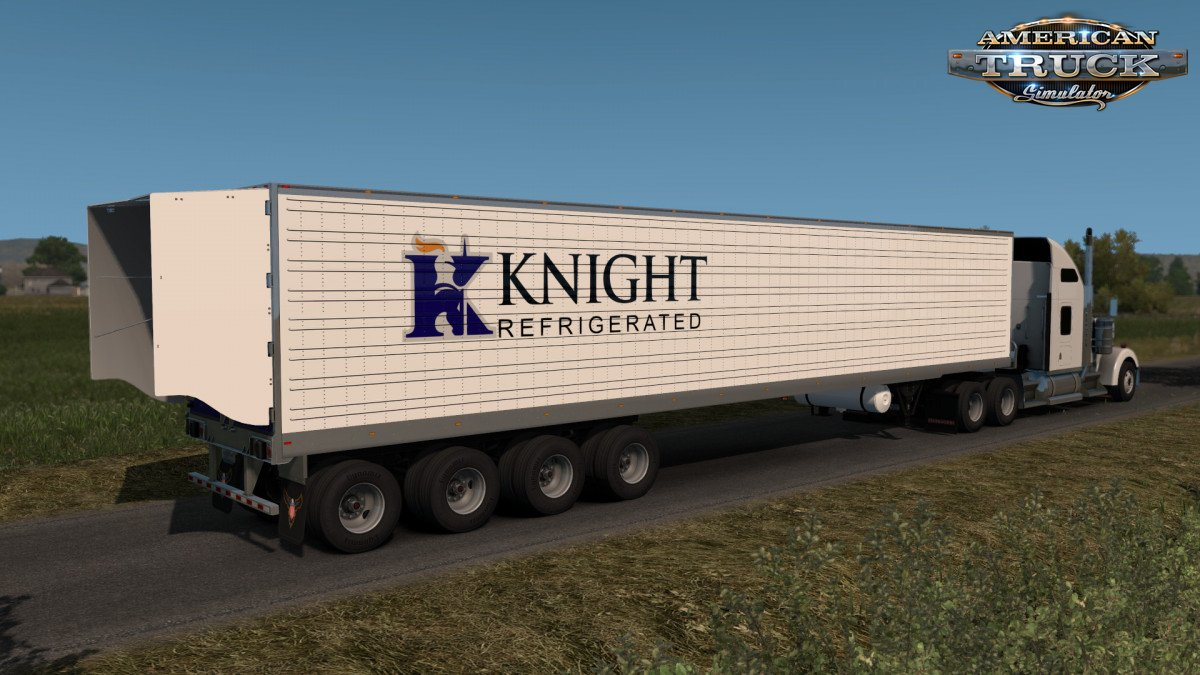 Custom 53 Trailer v1.5 (1.33.x) for ATS