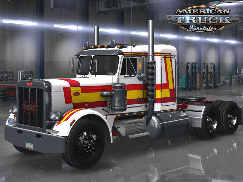 Retro Skinpack for Peterbilt 359 by RTA v1.0 (1.33.x) for ATS