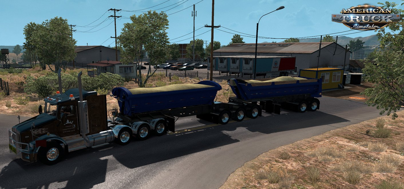 Trailer Midland B-Train Freight Market v1.0 (1.33.x) for ATS