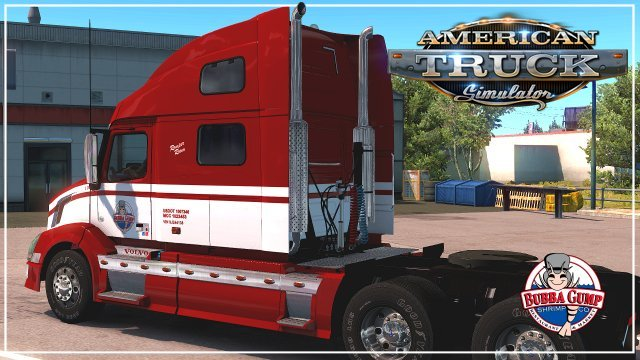 Bubba Gump Skin for Volvo VNL v1.0 (1.33.x) for ATS