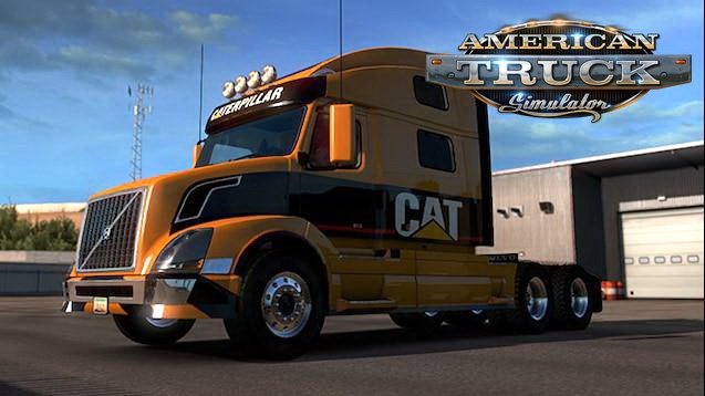 CAT Edition Skin for Volvo VNL v1.0 (1.33.x) for ATS
