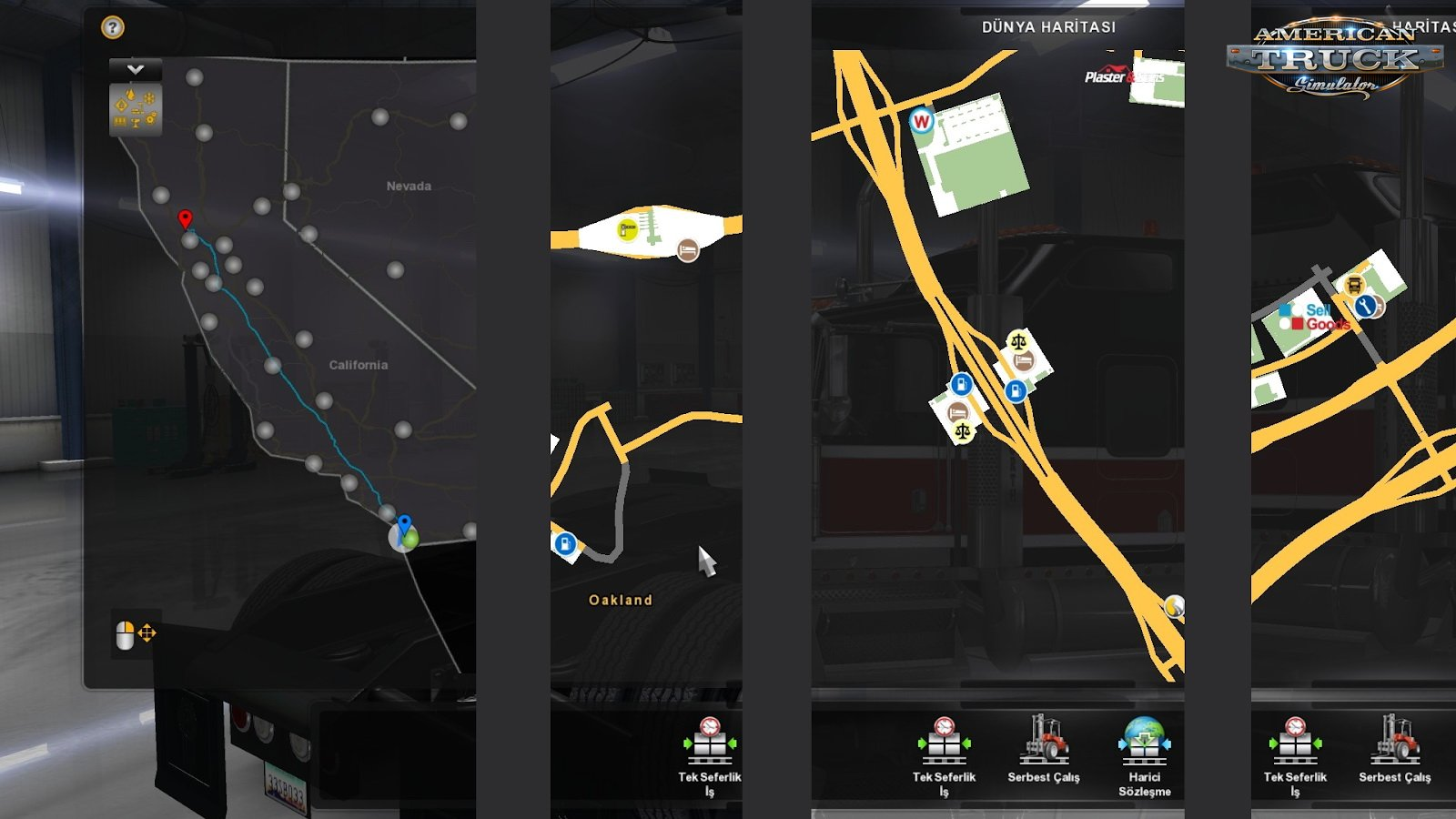 Google Maps Navigation Normal Version v1.6 (1.34.x) for ATS