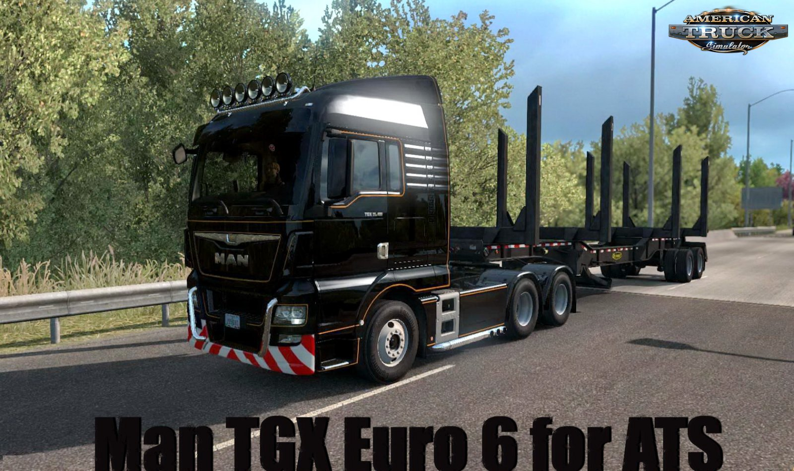 Man TGX Euro 6 + Interior v2.0 (1.35.x) for ATS