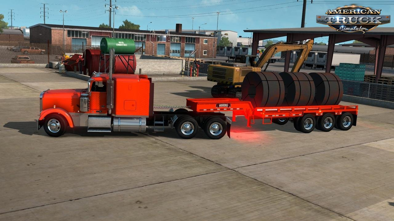 Rogers FG65L Coil Trailer Ownable v1.0 (1.34.x)