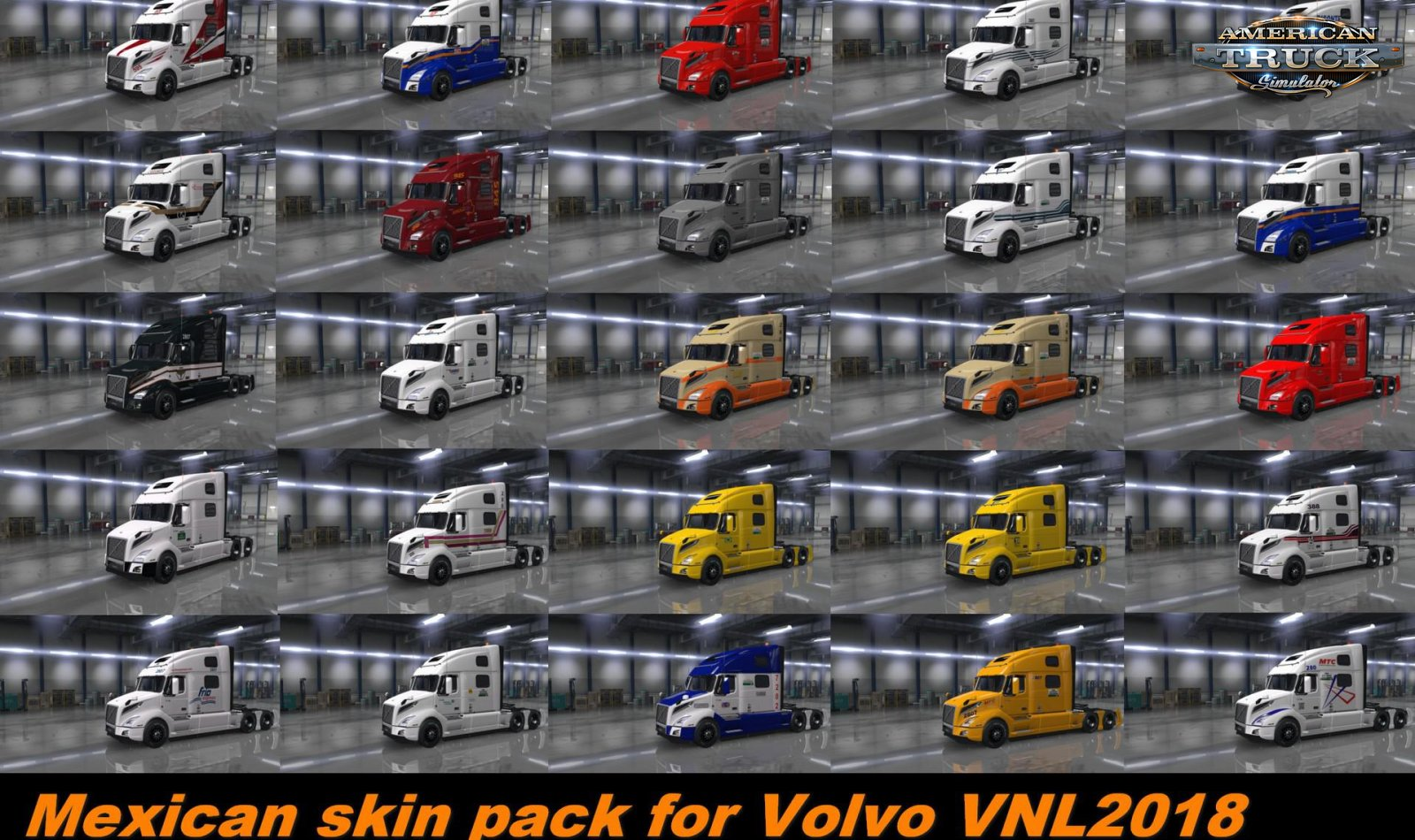 Mexican Skin Pack for Volvo VNL v1.0 (1.34.x)