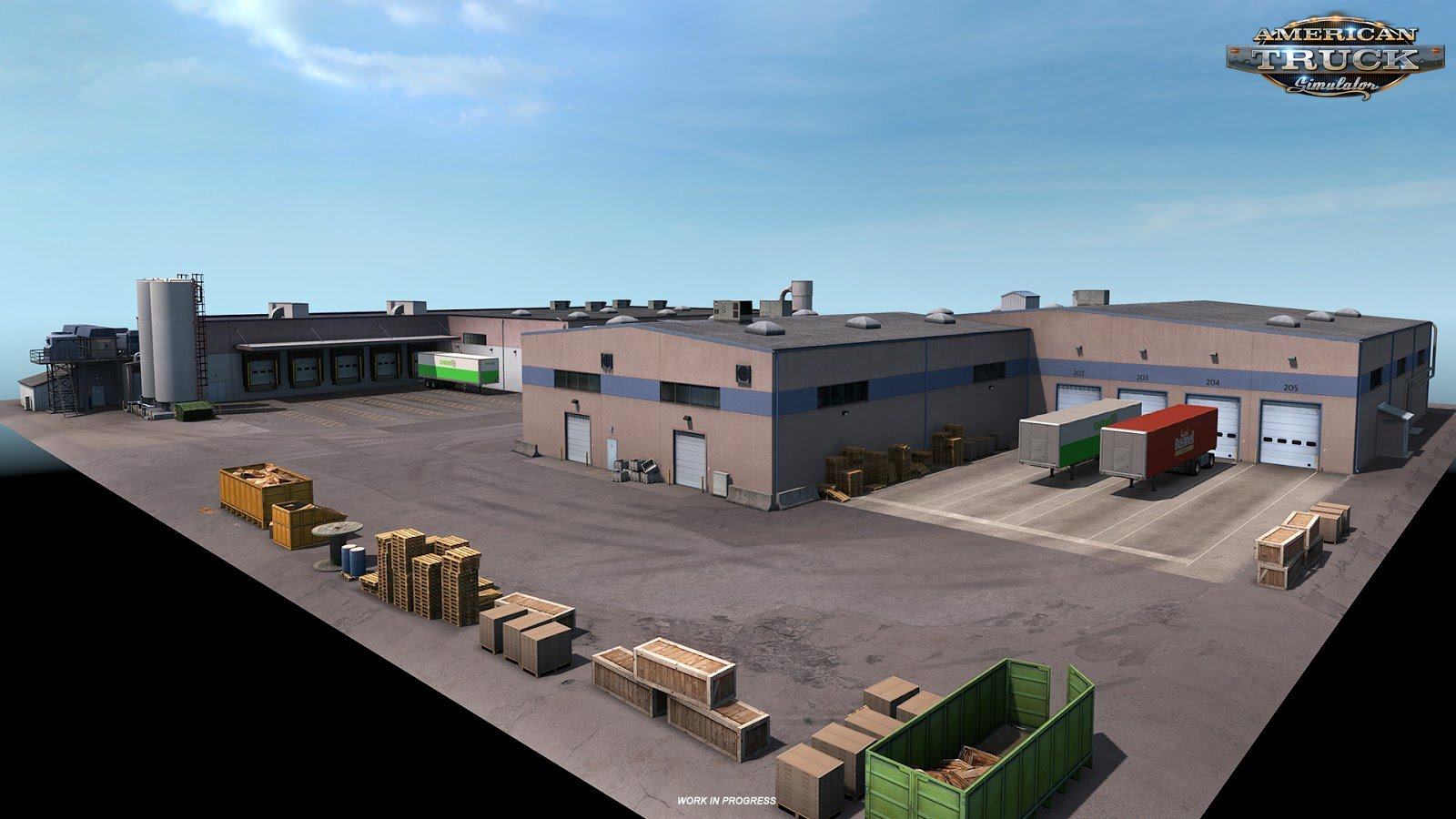 Washington DLC: Prefab building in ATS