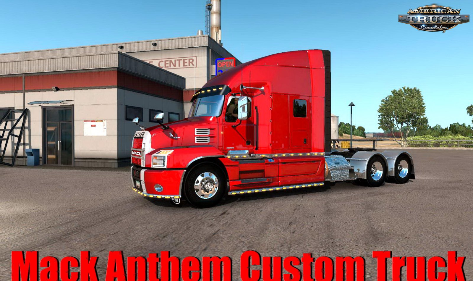 Mack Anthem Custom Truck + Interior v1.0 (1.34.x)