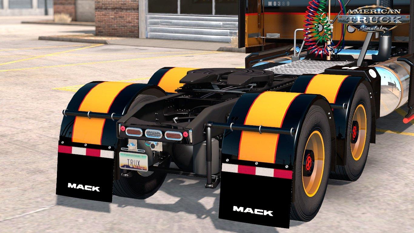 Zac Brown Mack Anthem Truck & Trailer Skins + Parts Tuning v1 0