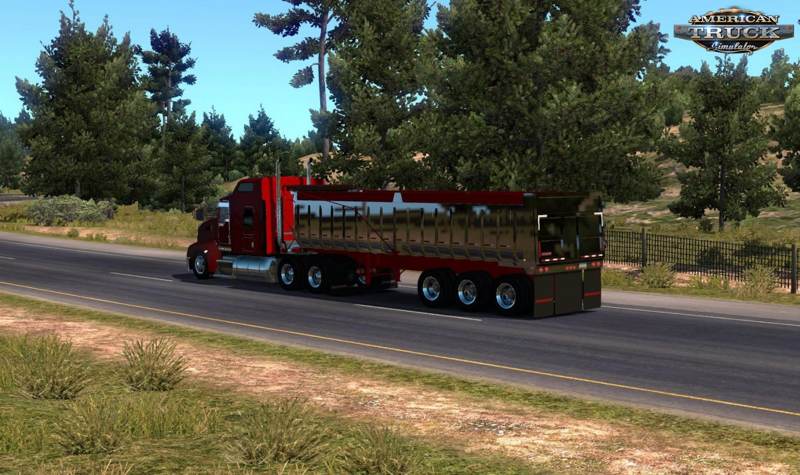 Trailer Fruehauf Single Dump 1973 v1.0 (1.34.x)