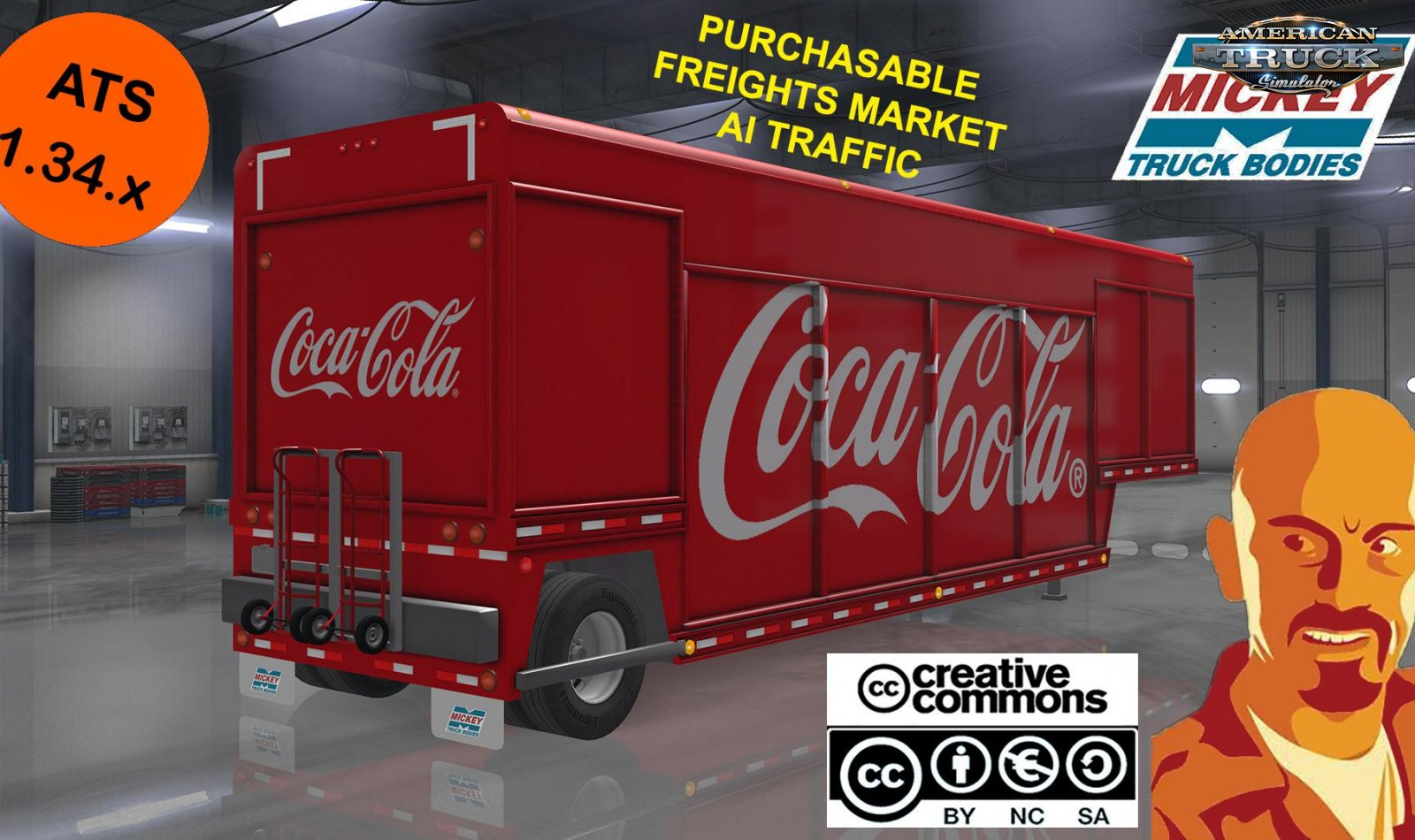 Mickeys Beverages Trailer Reworked v1.0 by CyrusTheVirus (1.34.x)