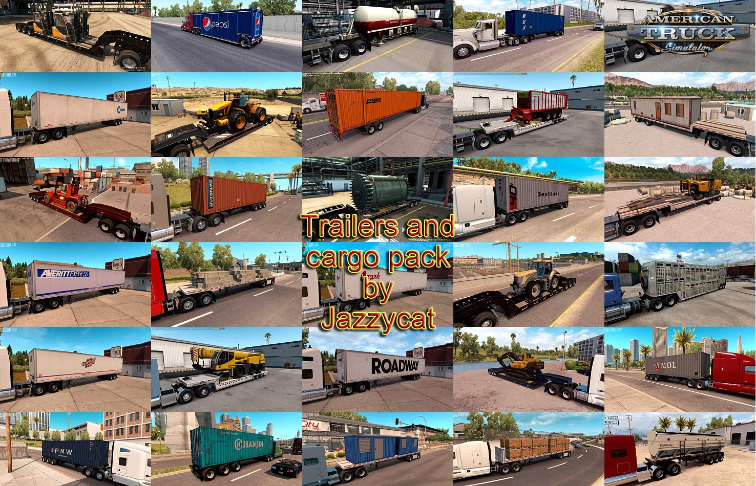 Trailers and Cargo Pack v3.2 by Jazzycat (1.36.x)