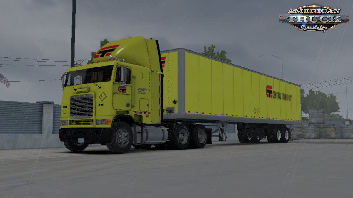 Central Transport Skin for Freightleiner FLB + Trailer v1.0 (1.34.x)