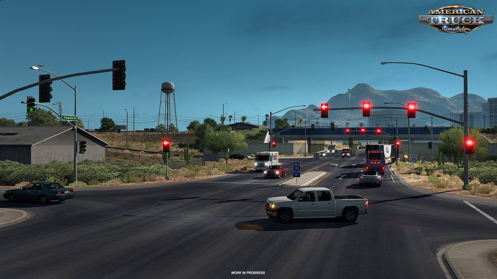 US Traffic Lights in ATS