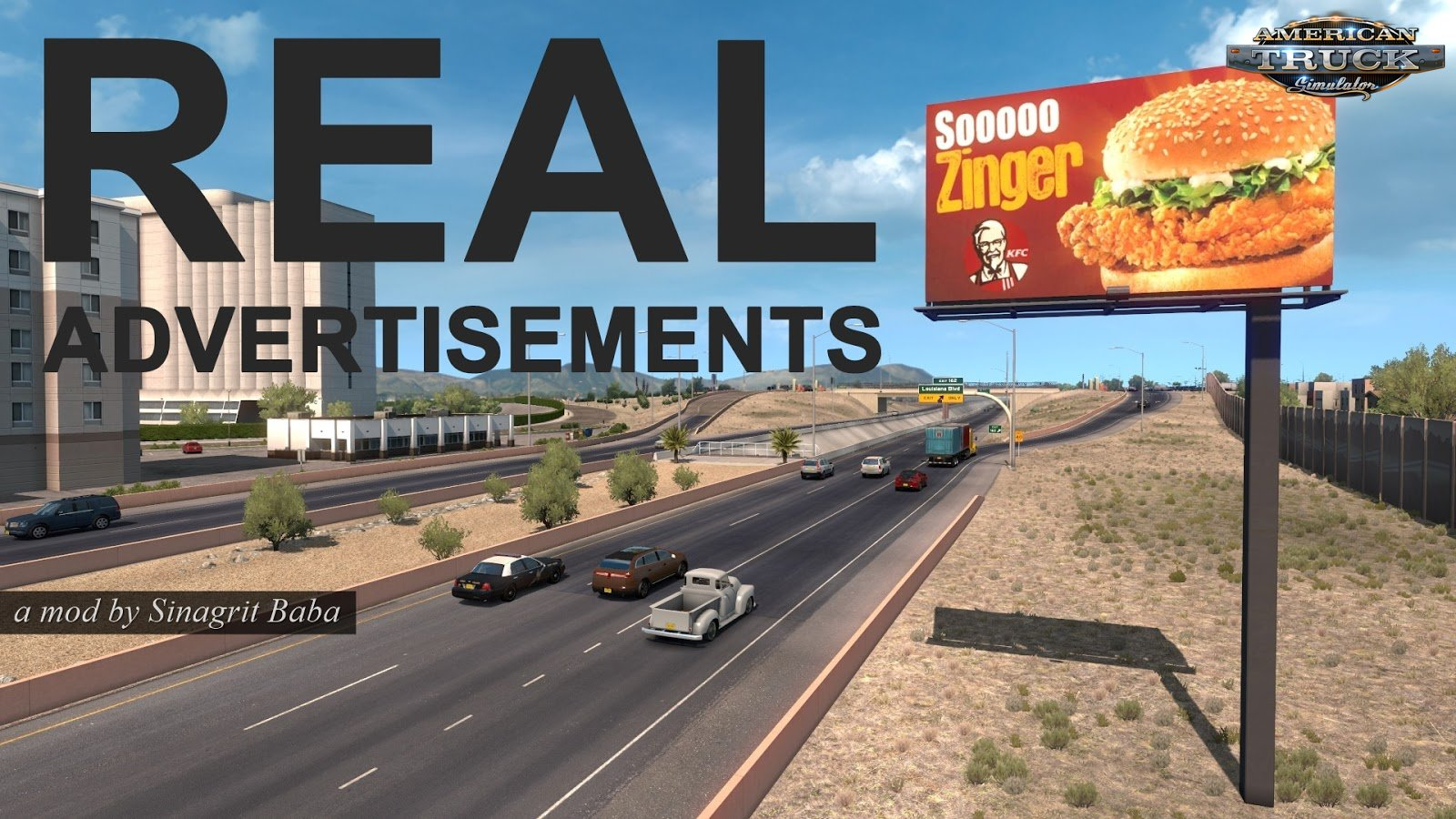 Real Advertisements Mod v1.1 by Sinagrit Baba (1.35.x) for ATS