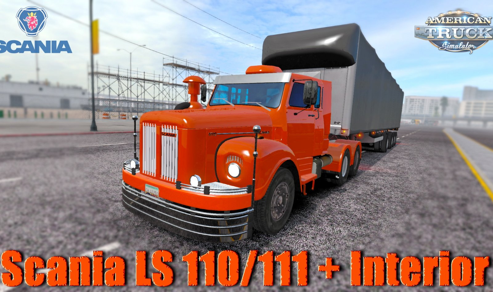 Scania LS 110/111 + Interior v2.0 by JbArtMods (1.35.x) for ATS