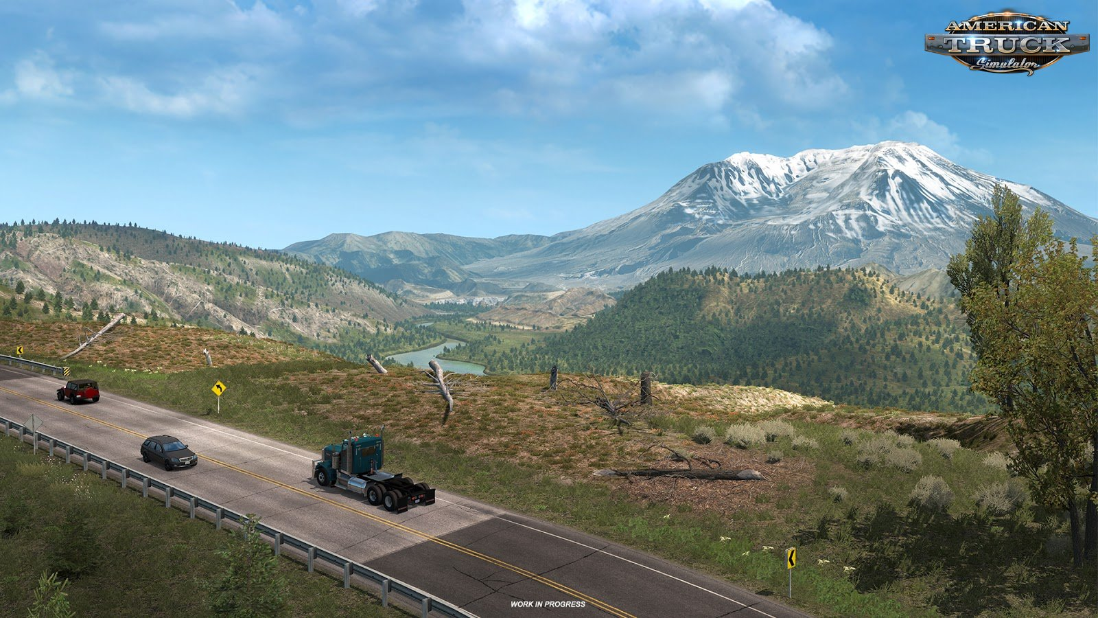 Washington DLC: Mount St. Helens in ATS
