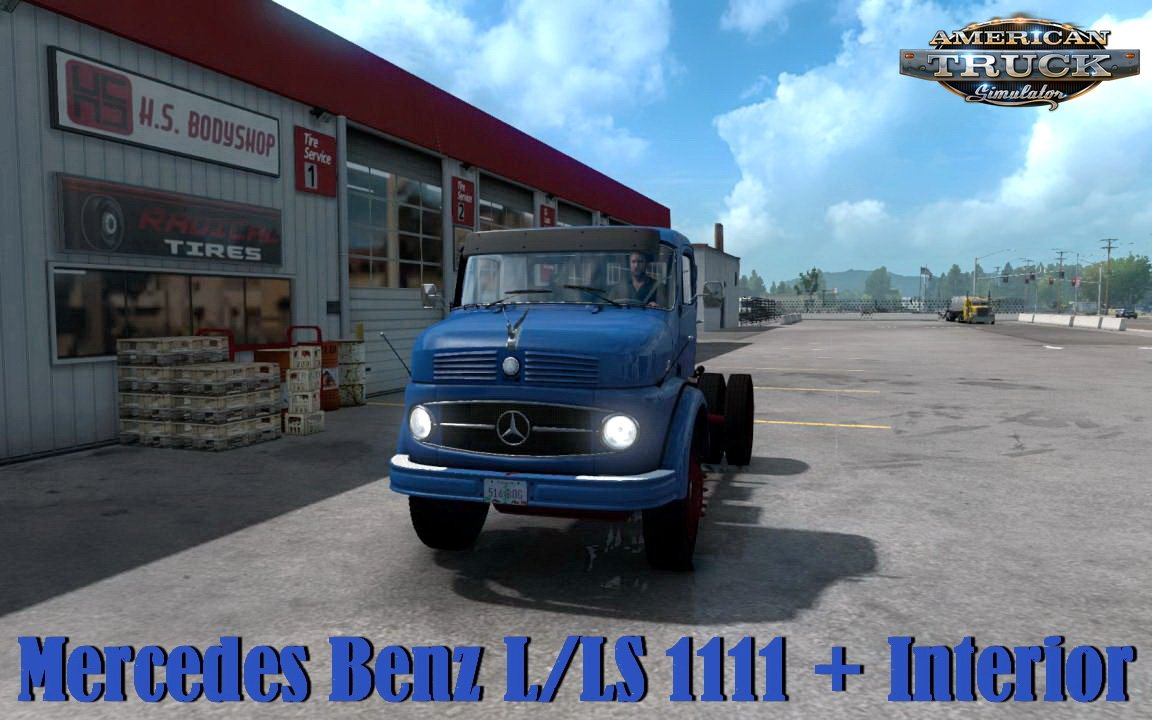Mercedes Benz L/LS 1111 + Interior v1.0 (1.35.x)