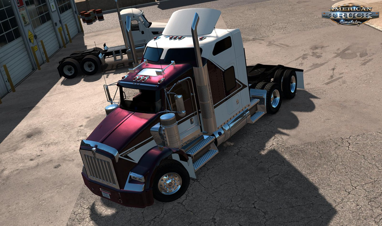 Kenworth T800 + Interior v1.2.2 by GTM Team (1.35.x)
