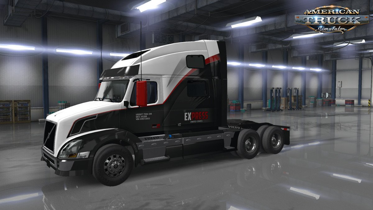 Express United States Skin for Volvo VNL v1.0 by HYPENUT (1.35.x)