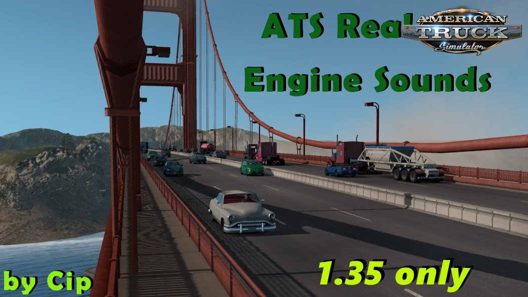 Real Ai Traffic Engine Sounds by Cip (1.35.x) for ATS