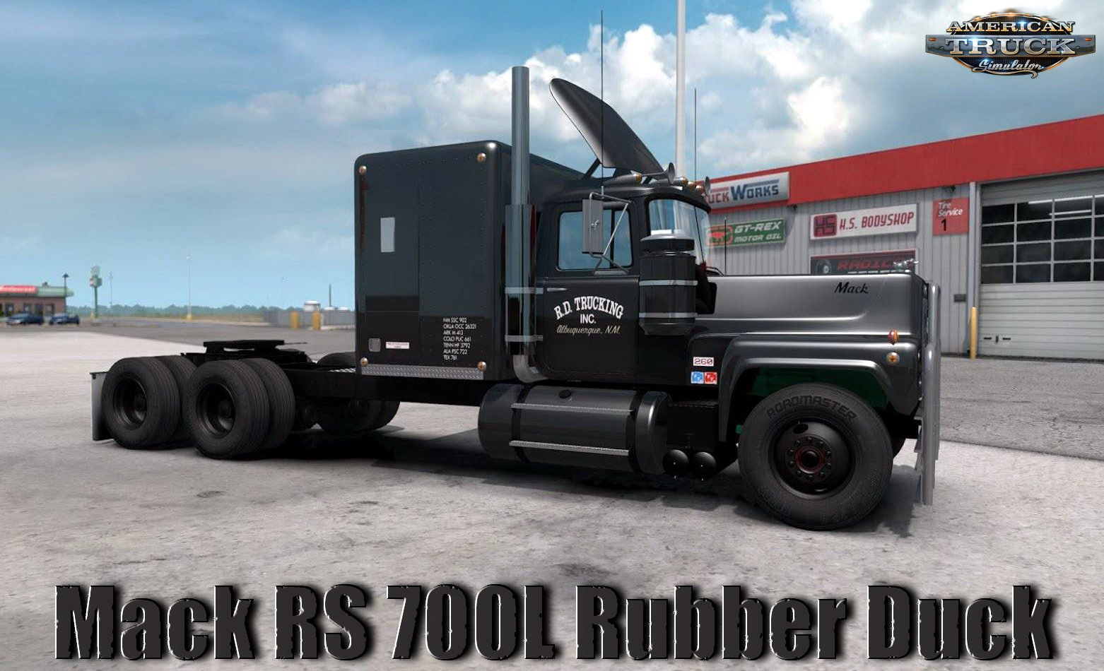 Mack RS 700L Rubber Duck v1.0 Reworked by Caleb_Crow (1.35.x)