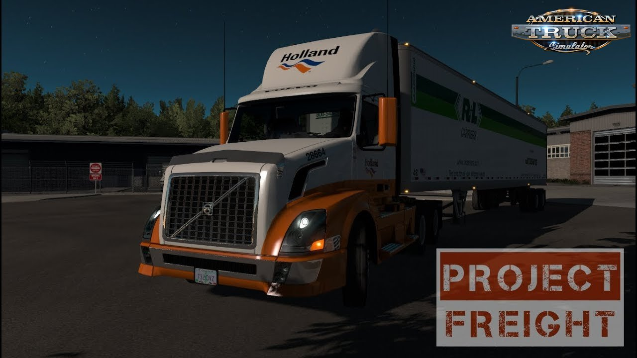 Project Freight v1.0 by HYPENUT (1.35.x) for ATS