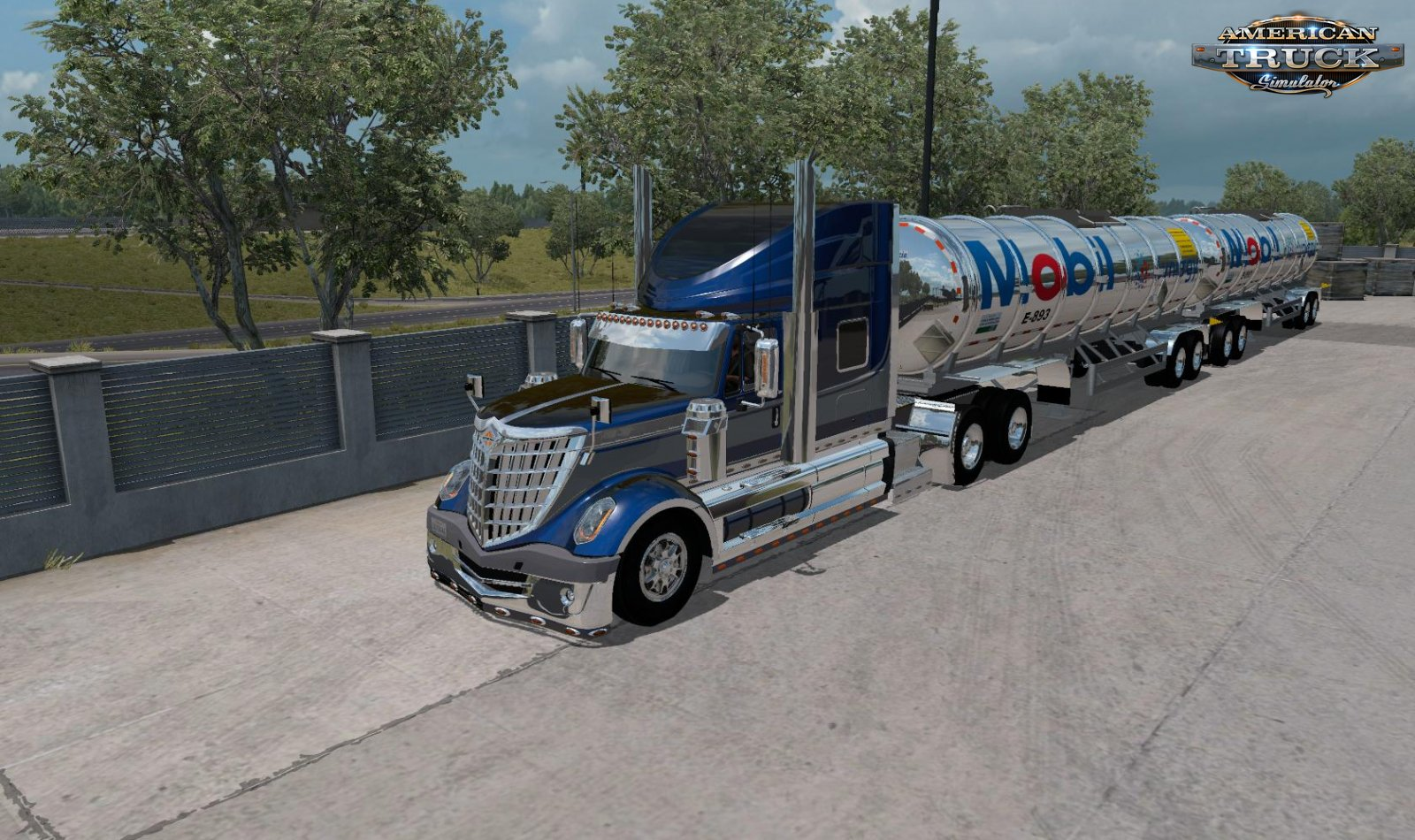 Gasero Gas trailers v1.0 (1.35.x) for ATS