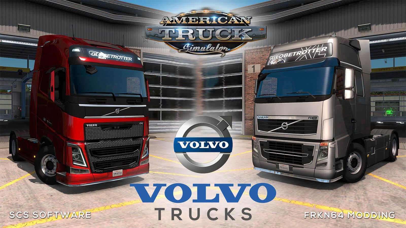 Volvo FH16 Trucks v4.1 by Frkn64 (1.35.x) for ATS