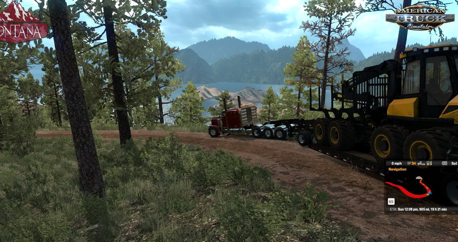 Montana Expansion Map v0.1.2 by xRECONLOBSTERx (1.35.x) for ATS