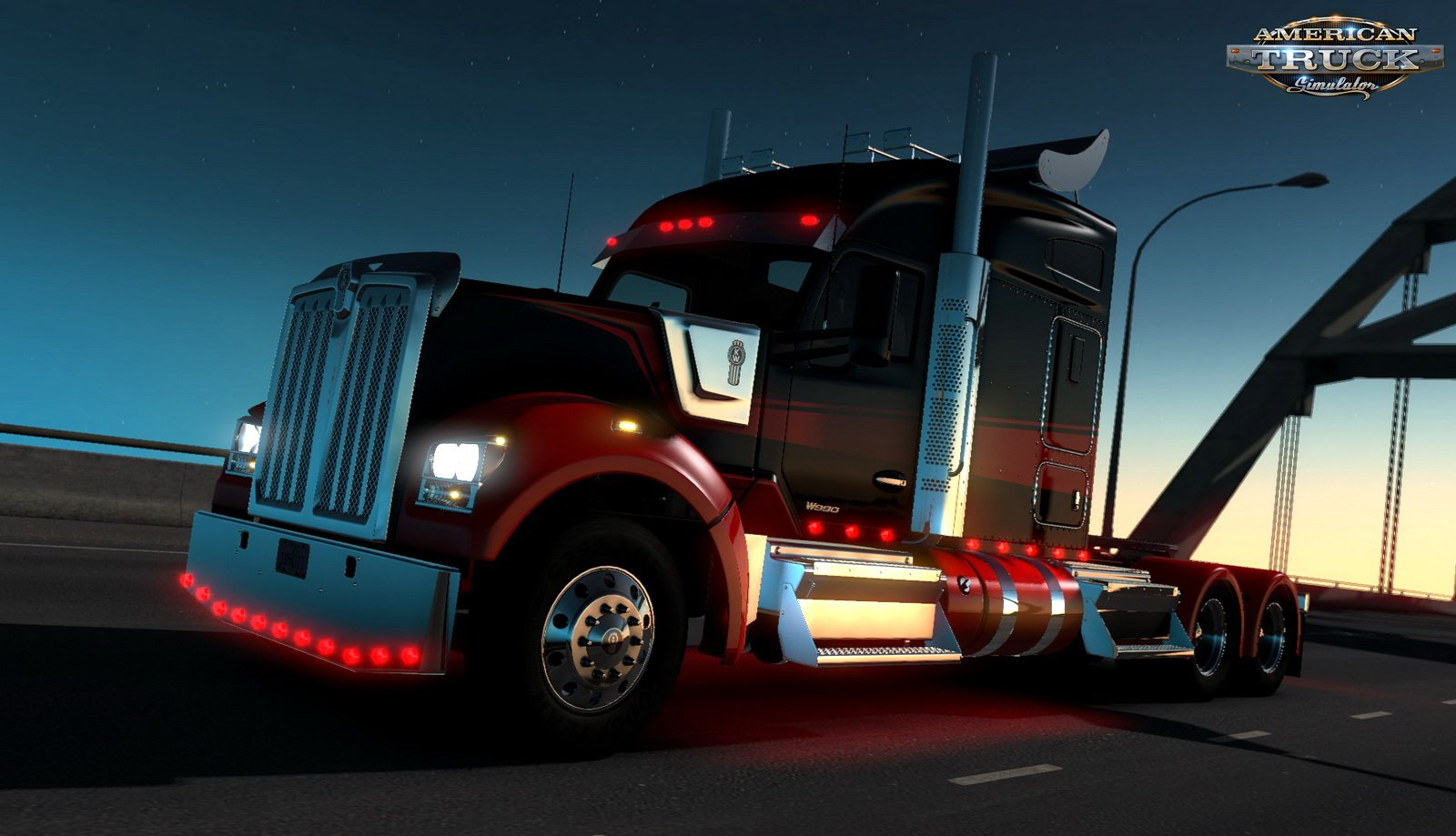 Kenworth W990 + Interior v1.1 Edited by Harven (1.35.x) for ATS