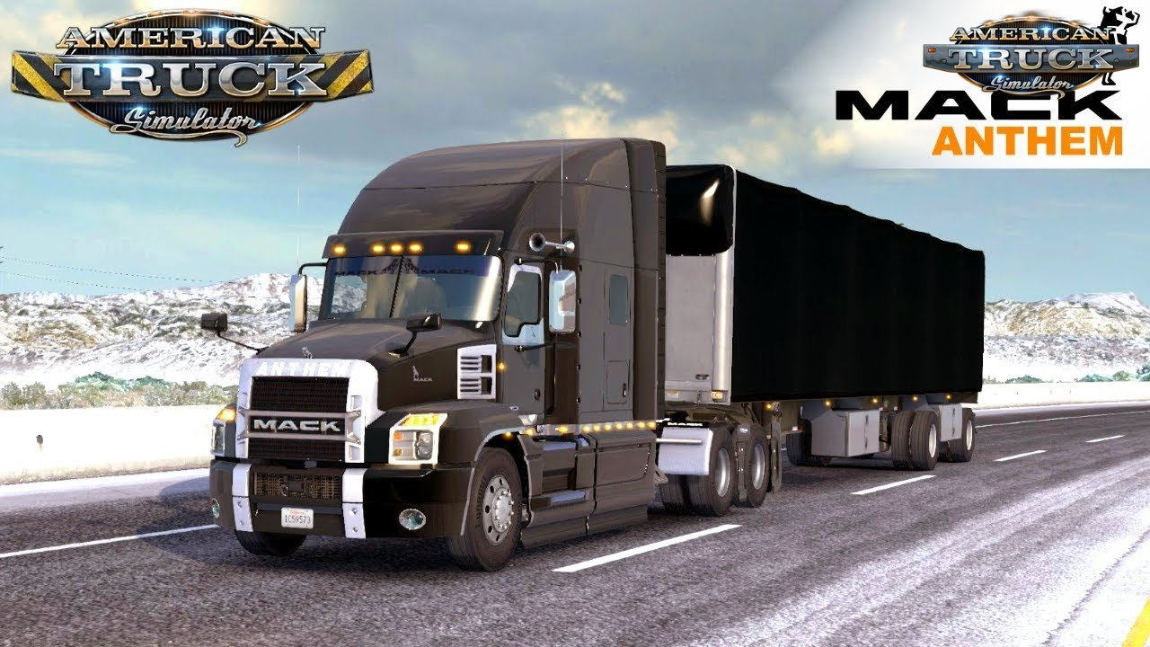 Mack Truck for ATS | American Truck Simulator