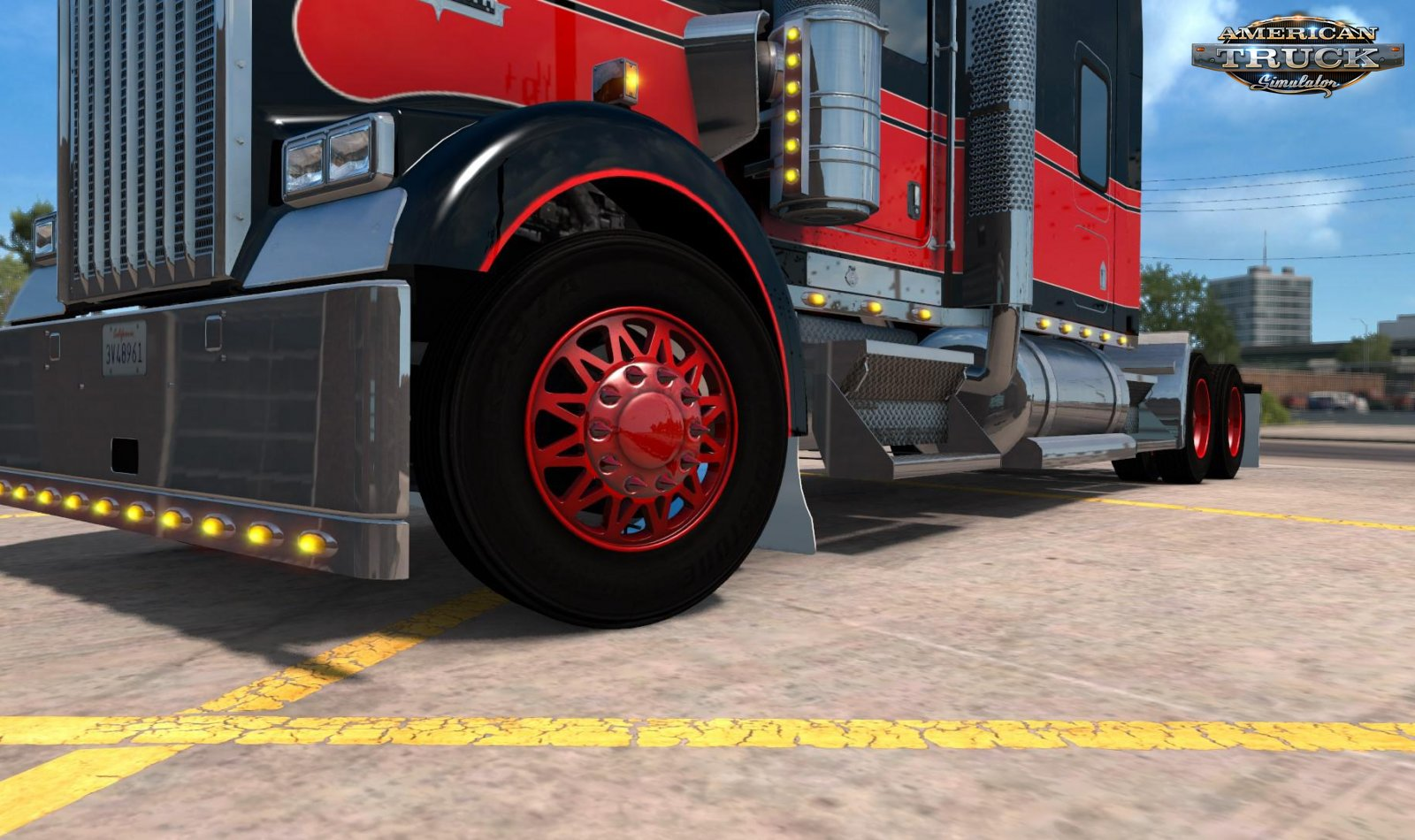 Wheels, Rims Mods for ATS | American Truck Simulator Wheels