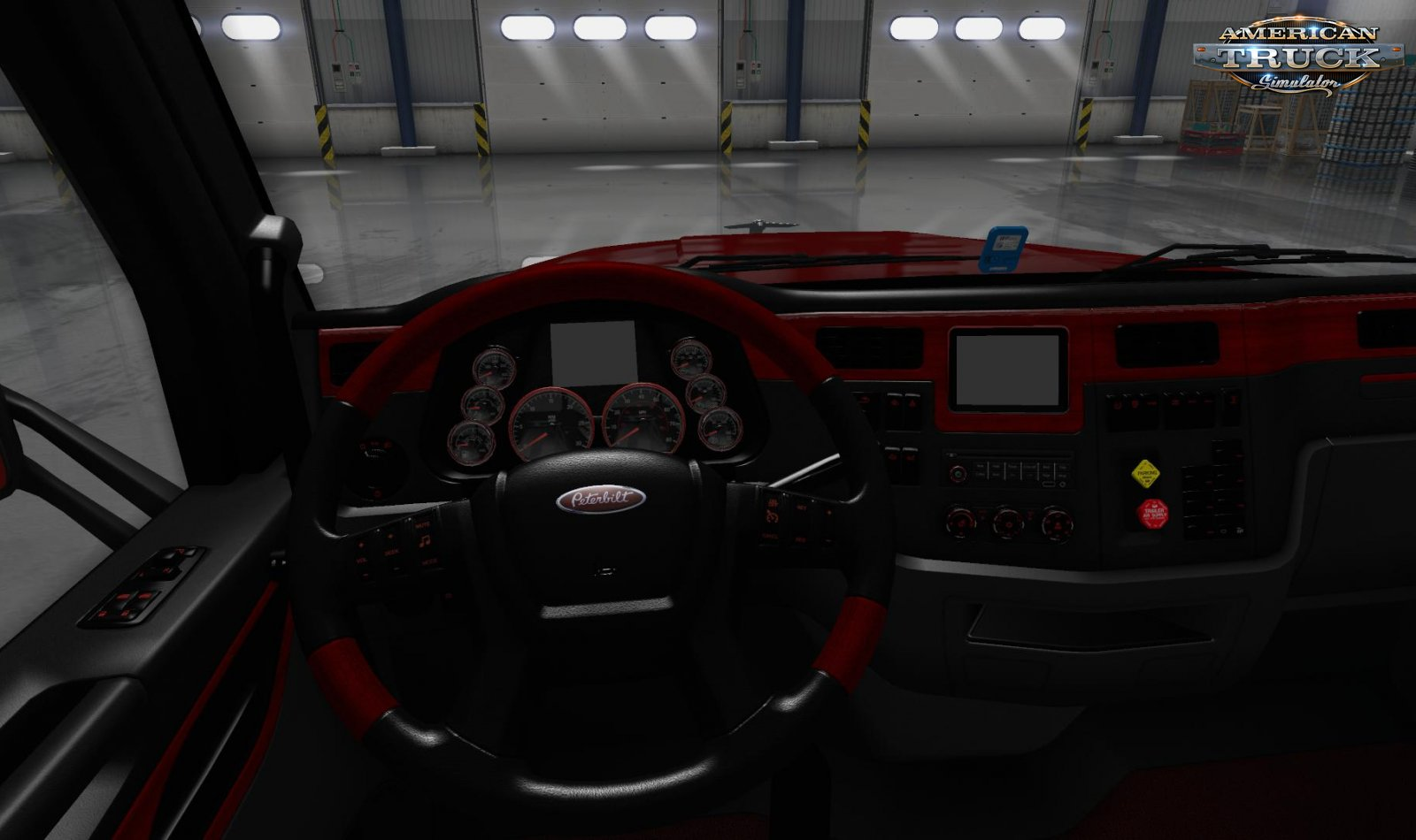 Platinum interior for Peterbilt 567 v1.0 (1.35.x) for ATS