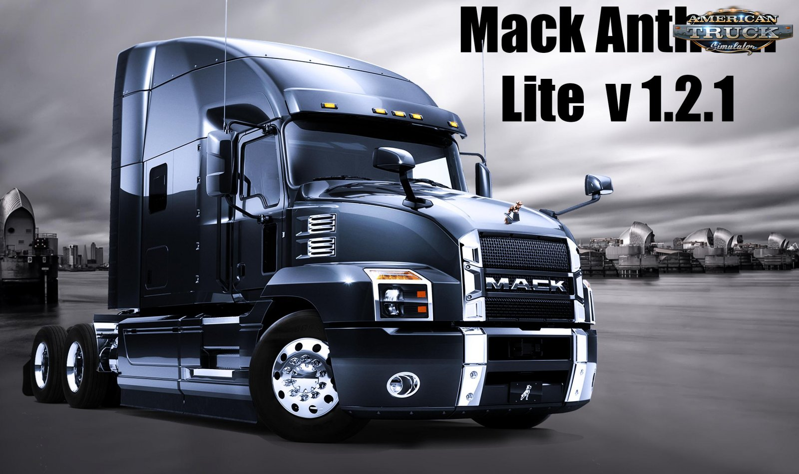 Mack Anthem 2018 + Interior (Lite Edition) v1.2.1 (1.35.x)