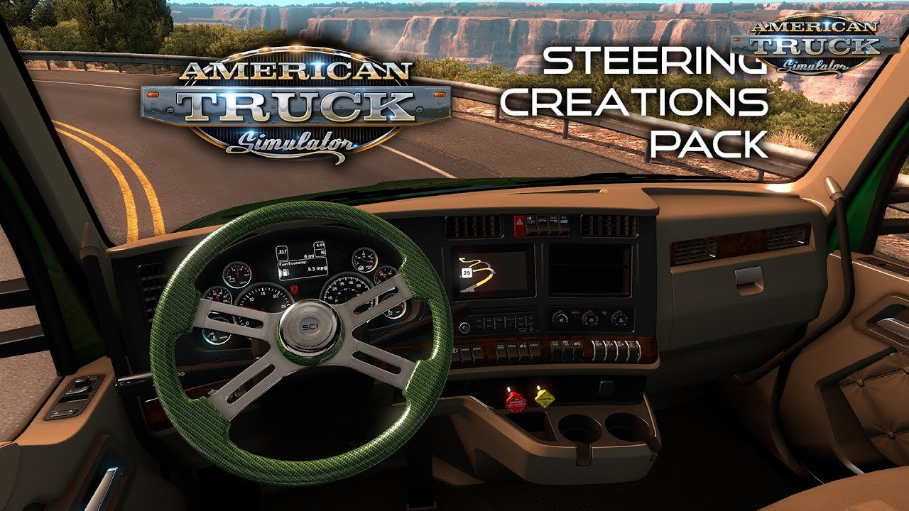 GTM Trucks Add-on v1.1: Steering Creations (1.35.x) for ATS