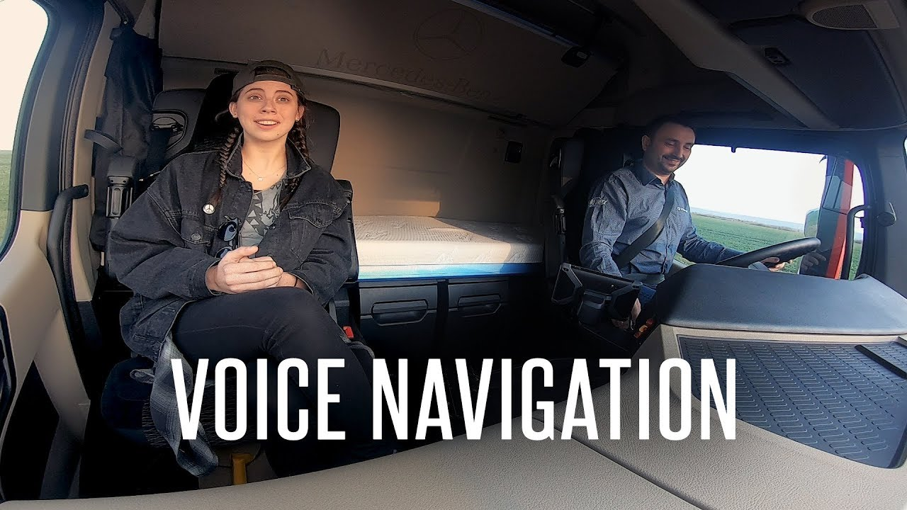 GPS Voice Navigation in ATS