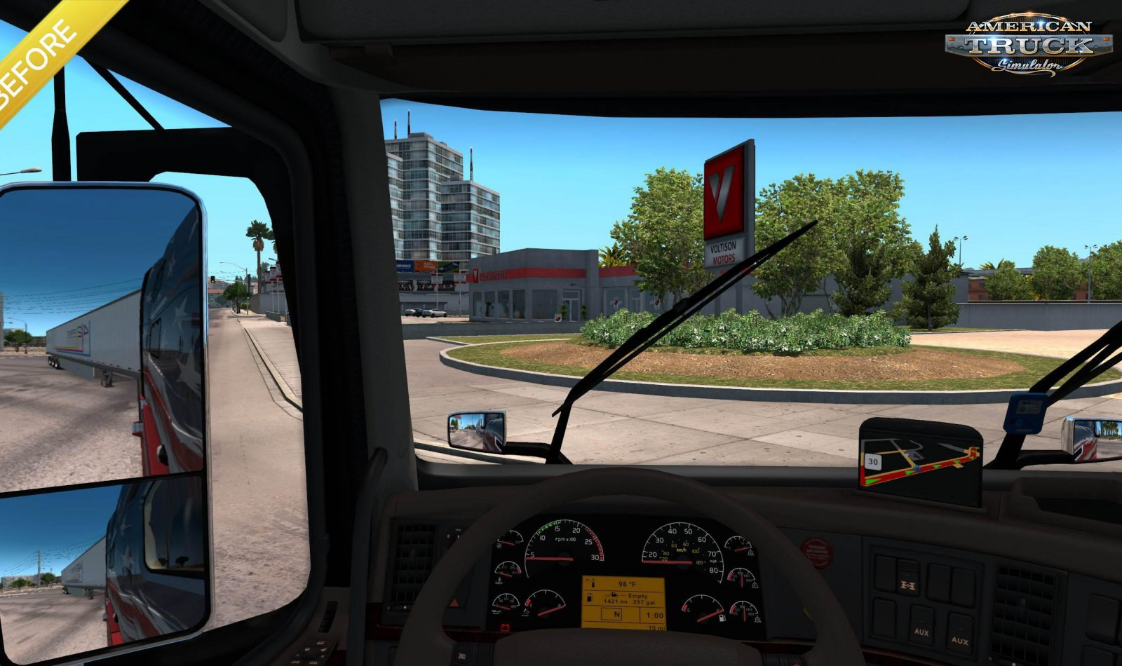 True Mirror FOV v1.0 (1.35.x) for ATS