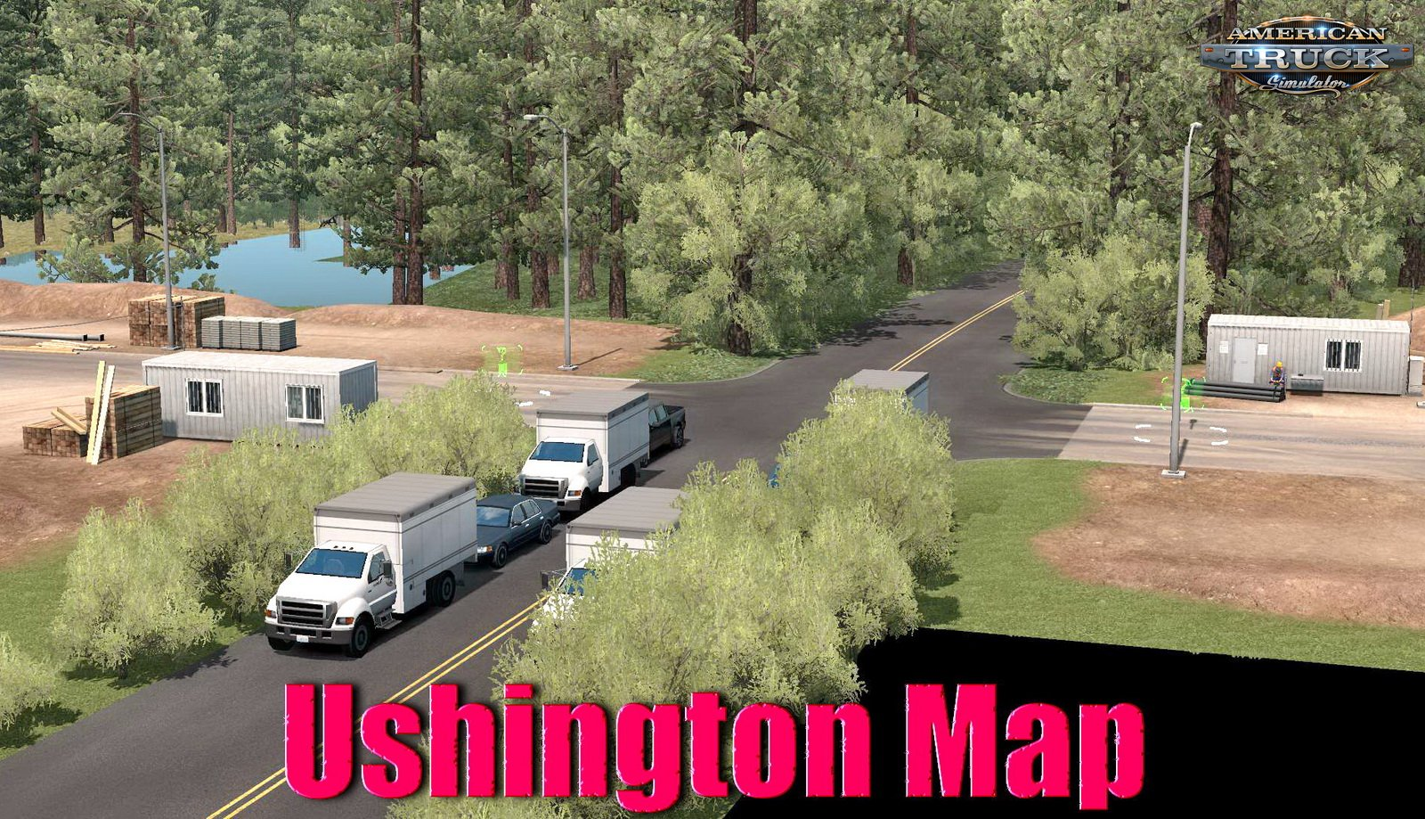 Ushington Map (Beta Version) v1.0 (1.35.x) for ATS