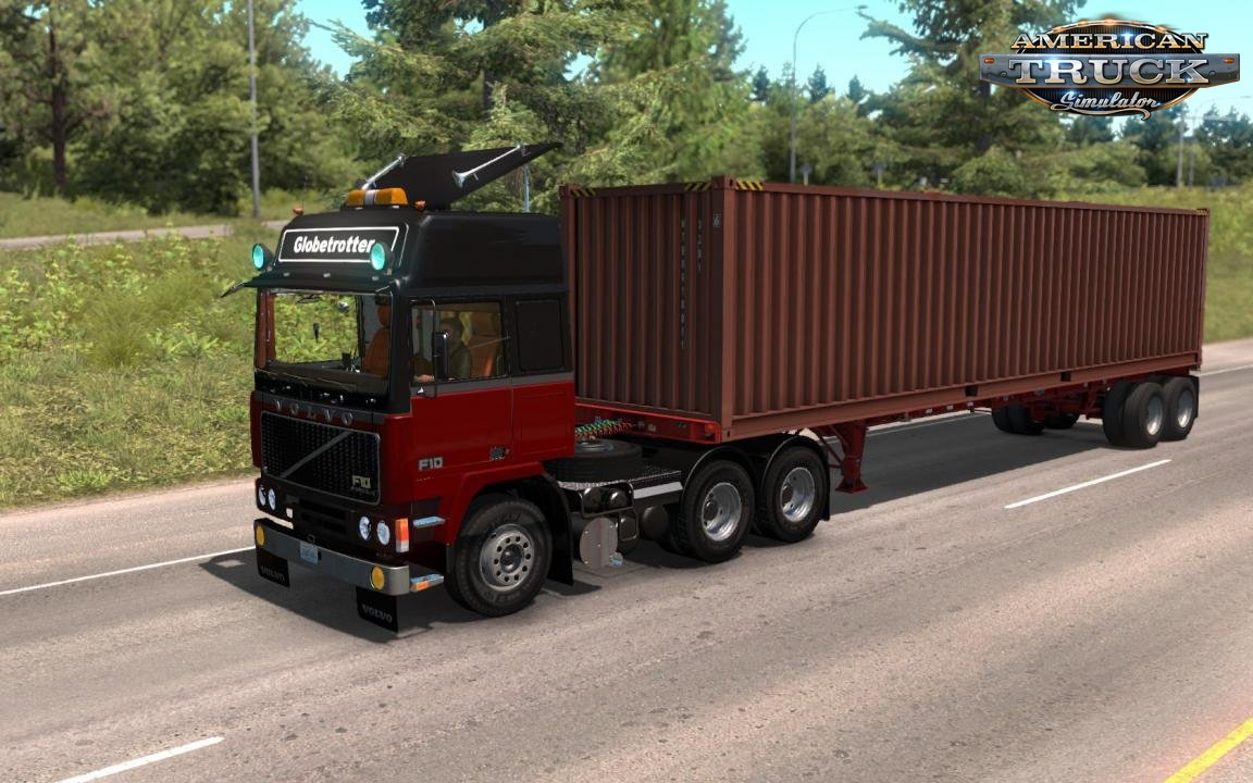 Volvo F10-F12 + Interior v1.0 (1.35.x) for ATS