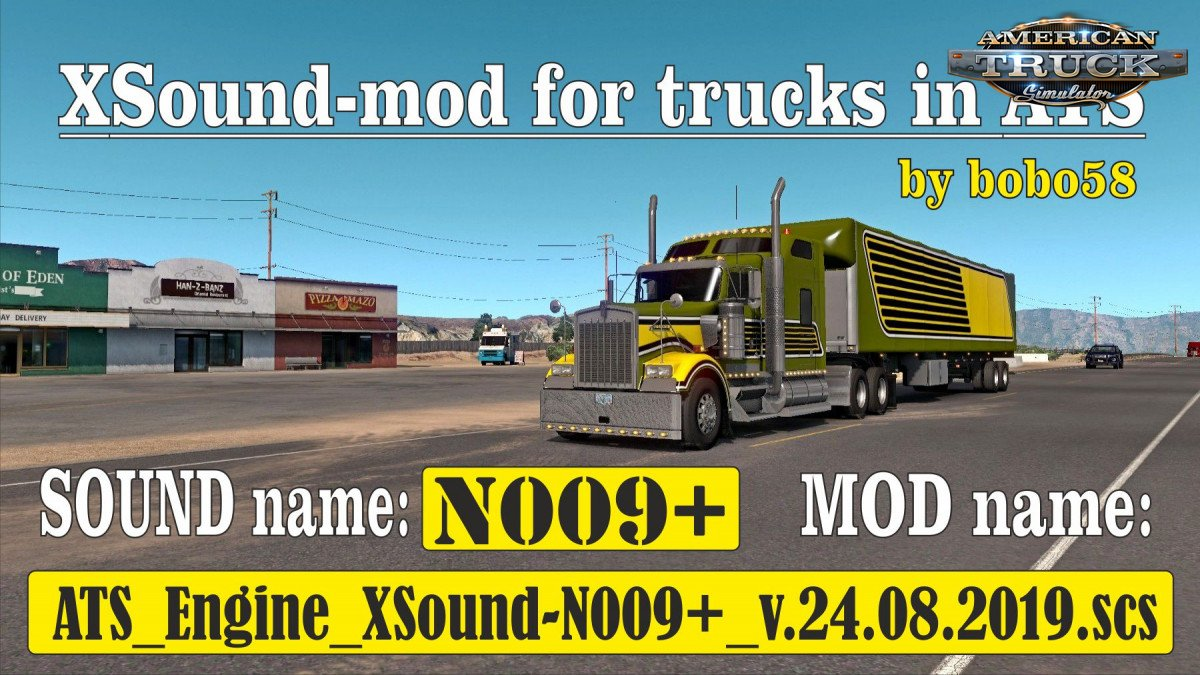 Sounds Mod for ATS | American Truck Simulator Sounds