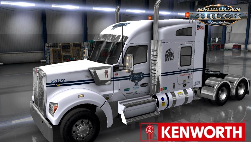 UDL Skin for Kenworth W990 v1.0 (1.35.x)