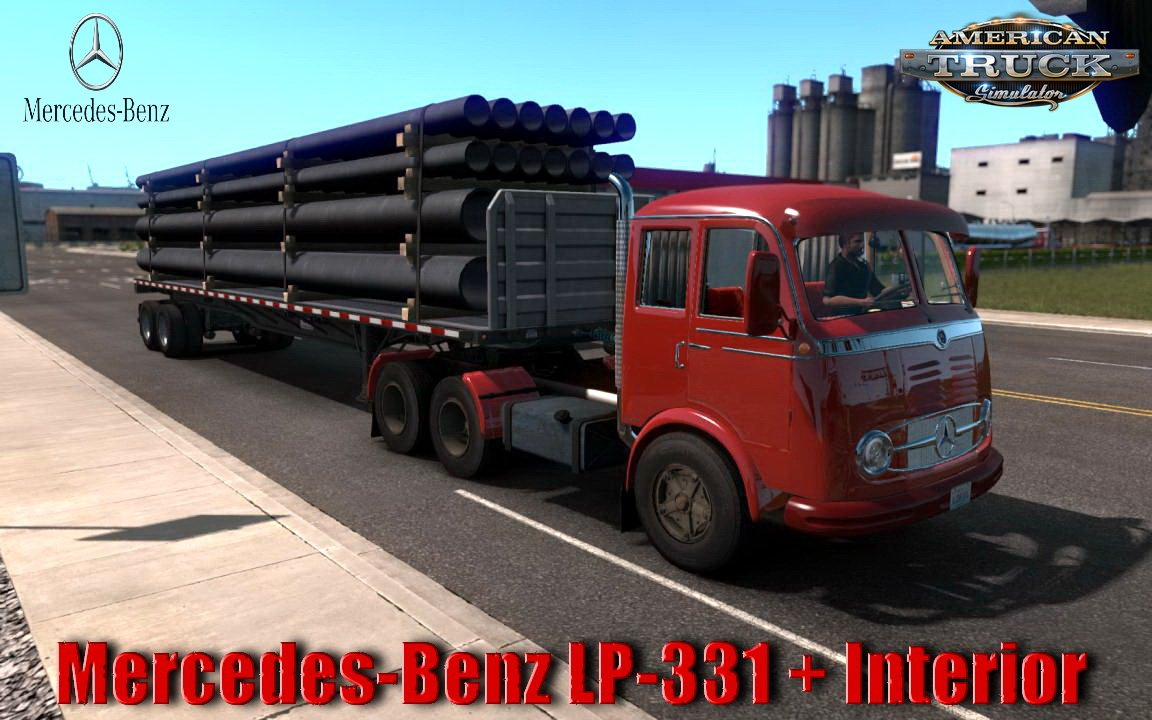 Mercedes-Benz LP-331 + Interior v2.2 (1.35.x)