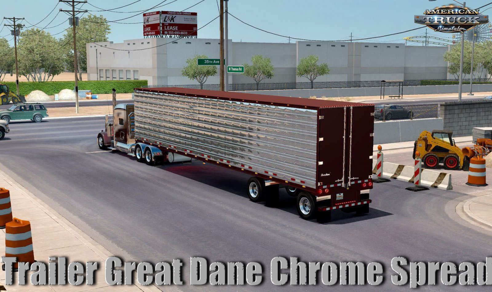 Trailer Great Dane Chrome Spread v1.0 (1.35.x)