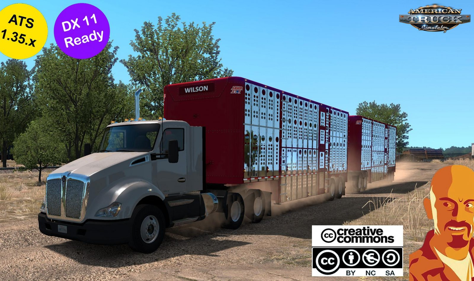 Wilson Livestock Trailers Reworked v1.0 (1.35.x)