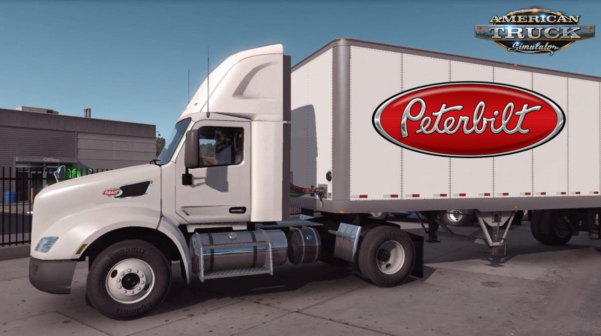 Daycab Wind Deflector Kit for Peterbilt 579 v1.0 (1.36.x)