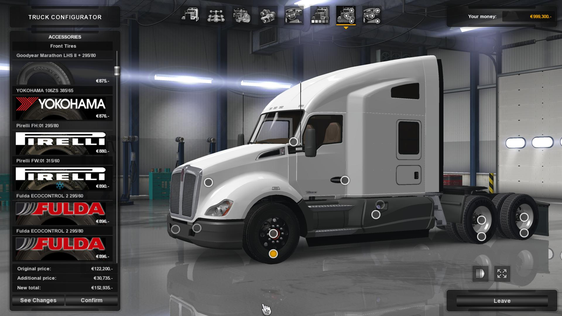 Real Tires Mod v3.1 (1.39.x) for ATS