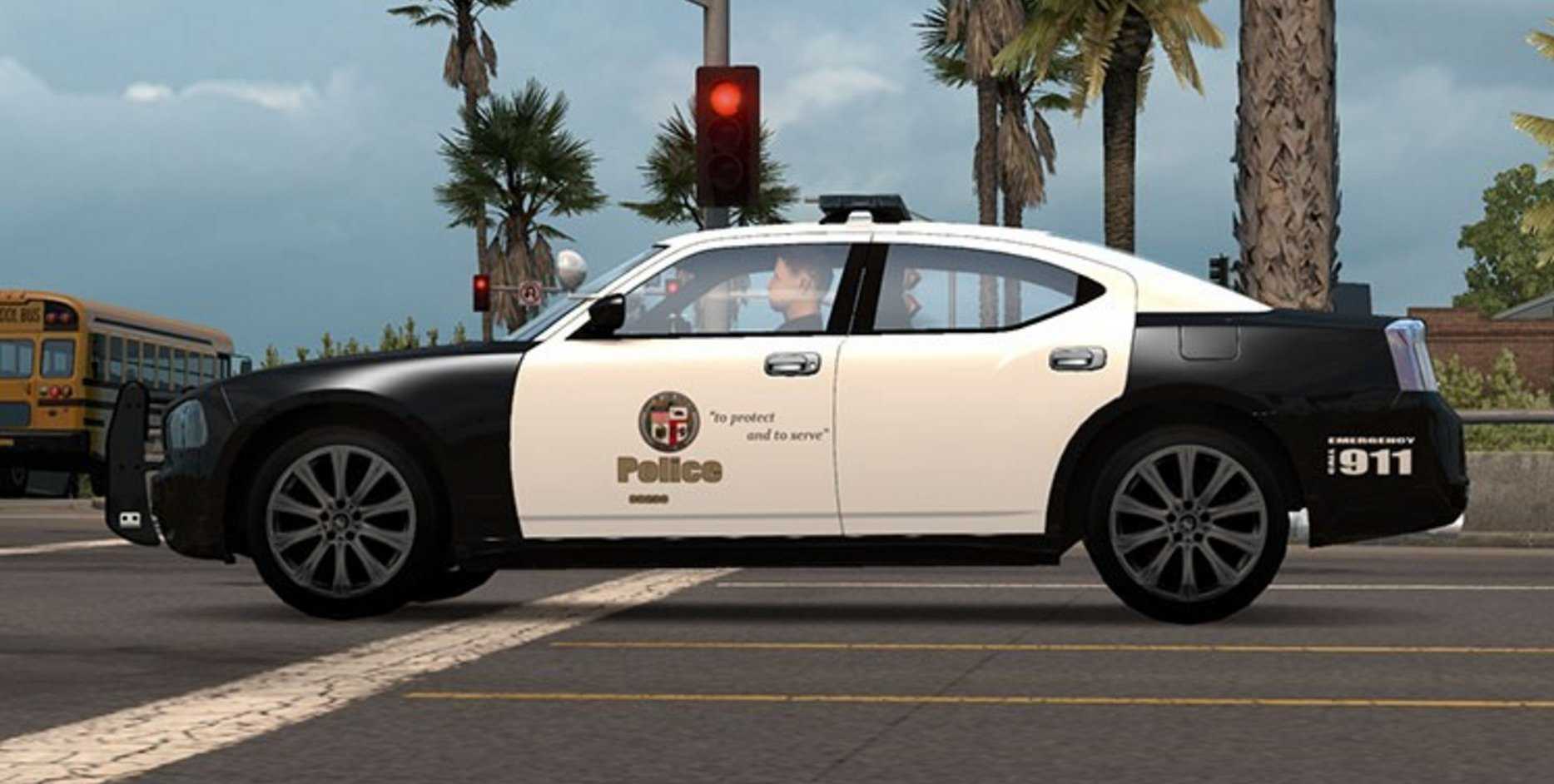 AI Police Dodge Charger