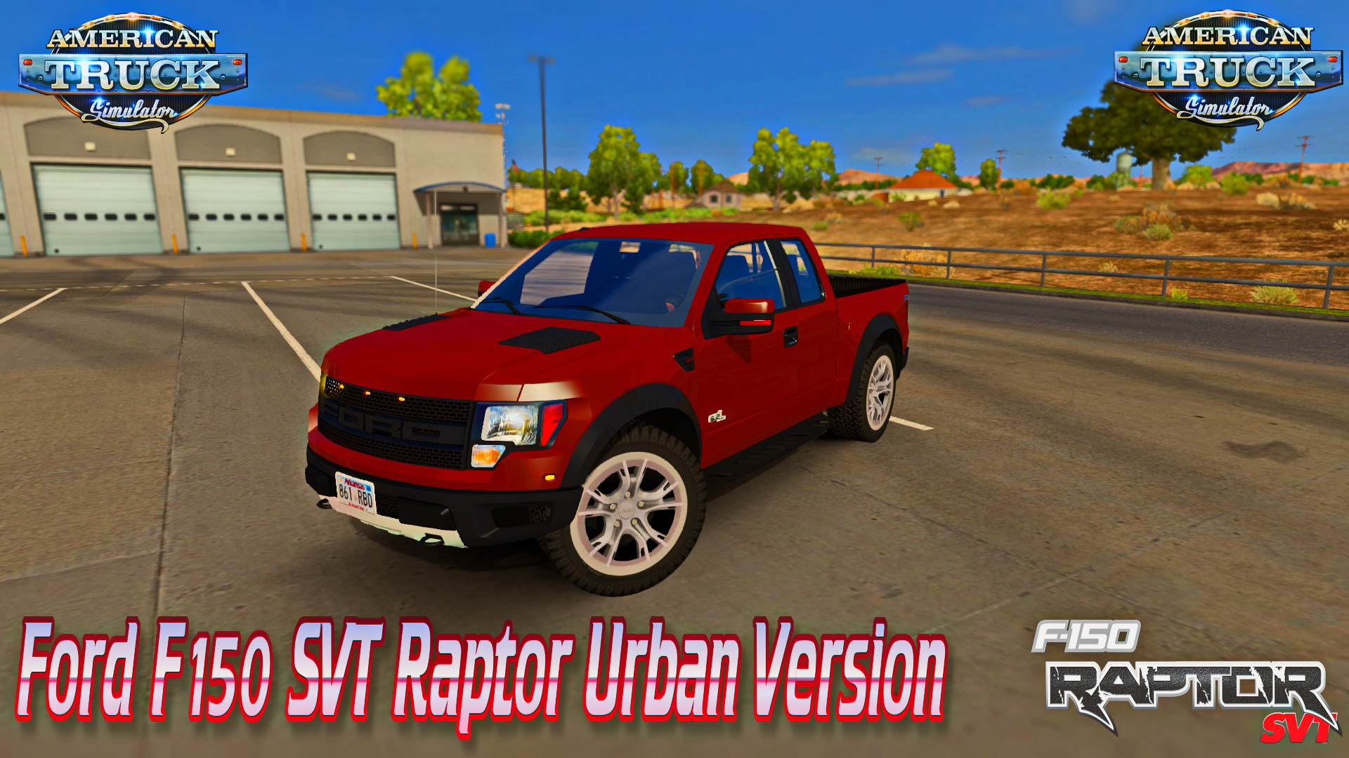 Ford F150 Raptor SVT + Interior (Urban Version) v1.4 for ATS